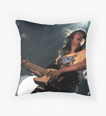 Courtney Barnett Throw Pillow