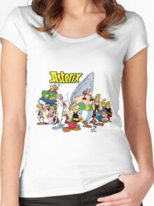 asterix and obelix Women's Fitted Scoop T-Shirt