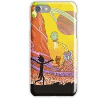 Rick and Morty Exploring iPhone Case/Skin