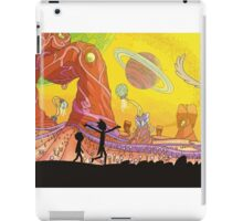 Rick and Morty Exploring iPad Case/Skin