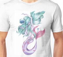 Blue Hair Mermaid Unisex T-Shirt