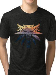 The Witcher - Wolf  Tri-blend T-Shirt