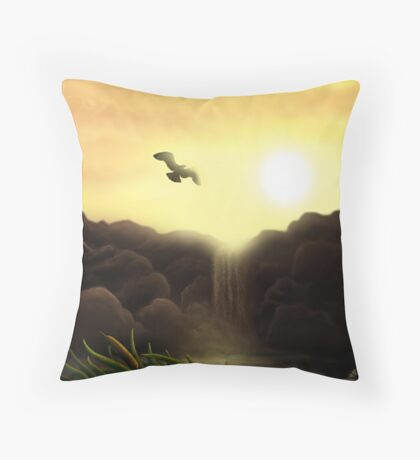 """""""You have the freedom to be yourself...."""" Throw Pillow"""