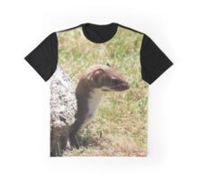 Profile of a stoat Graphic T-Shirt