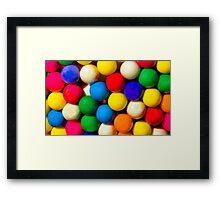Bubble Gum Love Framed Print