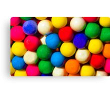 Bubble Gum Love Canvas Print