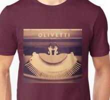 Olivetti typewriter Unisex T-Shirt
