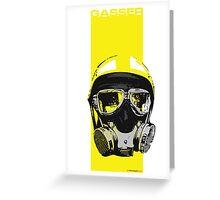 Gasser-Yellow Greeting Card