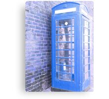 the tardis it is not Canvas Print