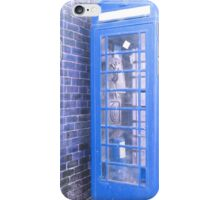 the tardis it is not iPhone Case/Skin
