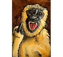 Monkey Bastard Photographic Print