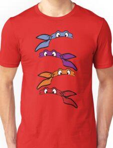 Teenage Mutant Ninja Turtles Classic Masks Unisex T-Shirt