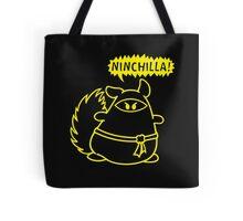 The Ninja Chinchilla - Yellow Tote Bag