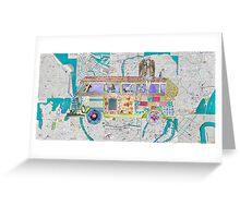 Travels in Wonderland Greeting Card