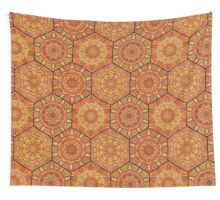 Honey Comb Hex Pattern from Flower Mandala Wall Tapestry