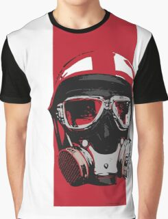 Gasser-Red Graphic T-Shirt