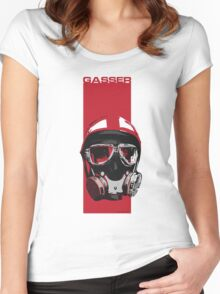 Gasser-Red Women's Fitted Scoop T-Shirt