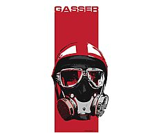 Gasser-Red Photographic Print