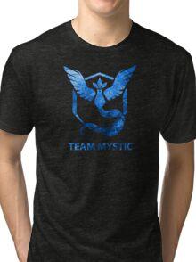 Team Mystic Art shirt - Waterpaper Tri-blend T-Shirt