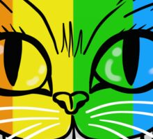 Rainbow Cheshire Cat Sticker