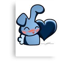 Cute Bunny 2 Canvas Print