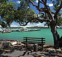 A peaceful Russell........Bay of Islands........! by Roy  Massicks