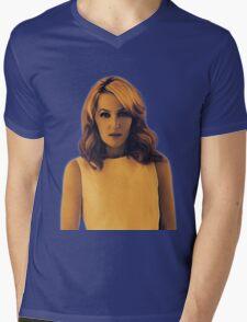 Gillian Anderson Painting  Mens V-Neck T-Shirt