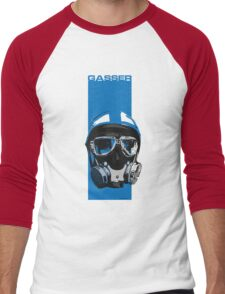Gasser-Blue Men's Baseball ¾ T-Shirt