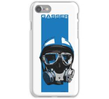 Gasser-Blue iPhone Case/Skin