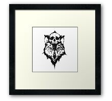 MR WOLF Framed Print