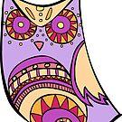 Deco Owl - grape juice by Cassie M.