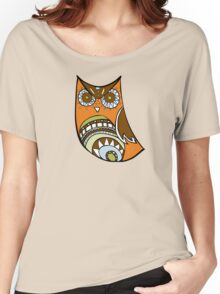 Deco Owl - 70's kitchen Women's Relaxed Fit T-Shirt