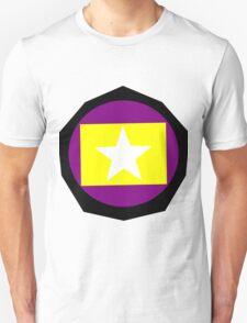 Multi-color Shield Unisex T-Shirt