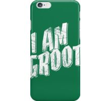 I am Groot Shirt iPhone Case/Skin