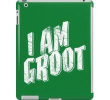 I am Groot Shirt iPad Case/Skin