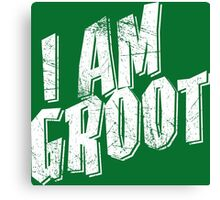 I am Groot Shirt Canvas Print