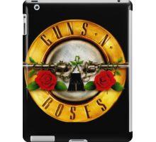 BLACK LOGO GUNS N' ROSES iPad Case/Skin