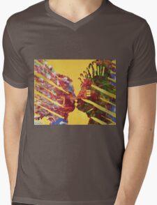 Native Kiss Mens V-Neck T-Shirt