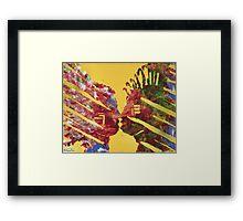 Native Kiss Framed Print