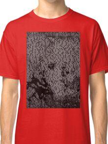 Radiohead - A Moon Shaped Pool Album Lyric Design #1 Classic T-Shirt