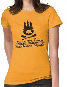 Camp Tikihama  Womens Fitted T-Shirt