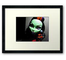 Halloween in August - Casta Framed Print