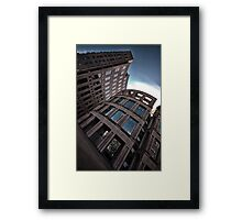 The Vancouver Public Library Perspective #2 Framed Print