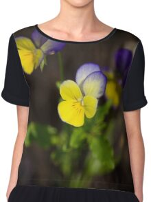 Johnny Jump Ups Chiffon Top