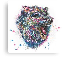 Radioactive Werewolf Canvas Print