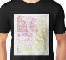 USGS TOPO Map Arizona AZ Tucson East 313822 1957 24000 Unisex T-Shirt