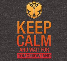 Keep Calm and wait for Tomorrowland festival - Yellow gradient Unisex T-Shirt