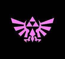 Triforce (Pink) by angieguzman