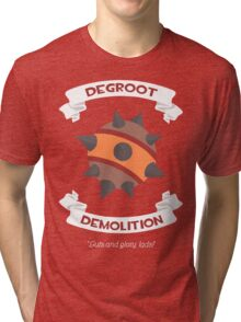 Degroot Demolition 2 (RED) Tri-blend T-Shirt