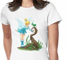 Tinkerbell Blue Fairy Womens Fitted T-Shirt